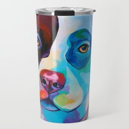 Pete - Pitbull Pop Art Travel Mug