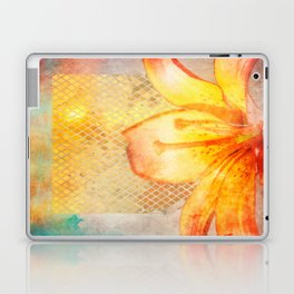 Fire Lily Laptop & iPad Skin