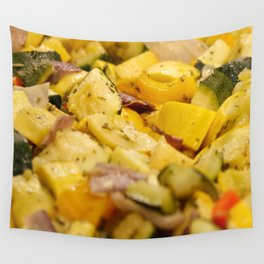 Steamed Vegetables Wall Tapestry