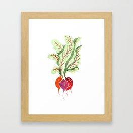Beetroots Framed Art Print
