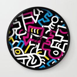 Mazed and Confused Wall Clock
