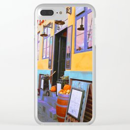 Danish Bar in Autumn Clear iPhone Case