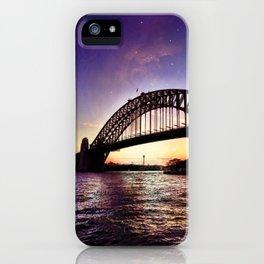 Harbour Bridge Sunset iPhone Case