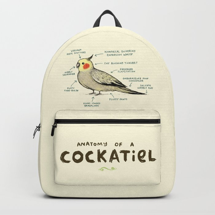 Anatomy of a Cockatiel Rucksack