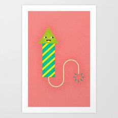 Party Firework Art Print