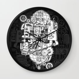 Hungry Gears Wall Clock
