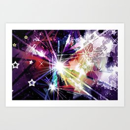 UNIVERSE ABSTRACT. Art Print