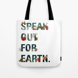 Speak Out for Earth! (Oceans) Tote Bag