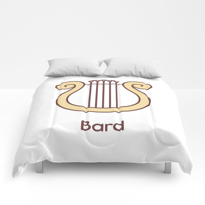 Cute Dungeons and Dragons Bard class Comforters