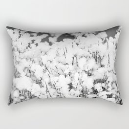 Snow Grass Rectangular Pillow