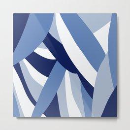 Pucciana Blue Metal Print