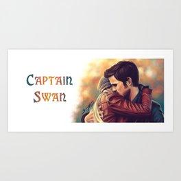 Arms around me - Captain Swan mug Art Print