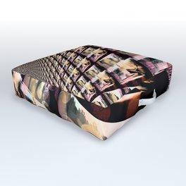Silent Peace - Bold Outdoor Floor Cushion