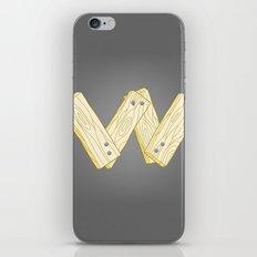 Alphabet W iPhone & iPod Skin