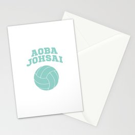 Haikyuu!! - Aoba Johsai Logo Stationery Cards