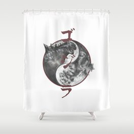 gojira 2014/1954 Shower Curtain