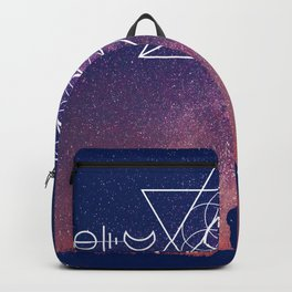 Across the Universe | Sacred Geometry Space | Mandala Space Backpack