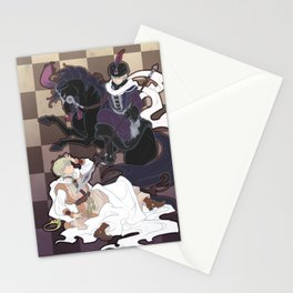 The Game of Checkmate Stationery Cards