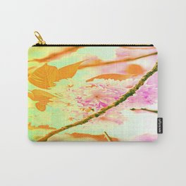 Spring hippy love colors Carry-All Pouch