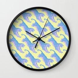 Rawr Pussy Cat Wall Clock