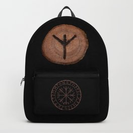 Algiz Elder Futhark Rune divinity, higher self, the state of listening, protective teaching force Backpack