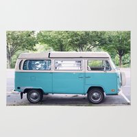 vw Area & Throw Rugs featuring VW by myhideaway