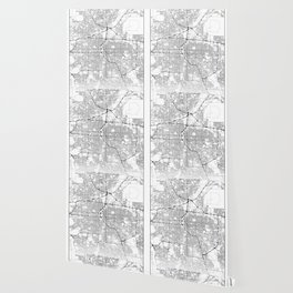 Minimal City Maps - Map Of Denver, Colorado, United States Wallpaper