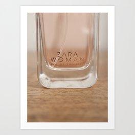 Zara Perfume Art Print