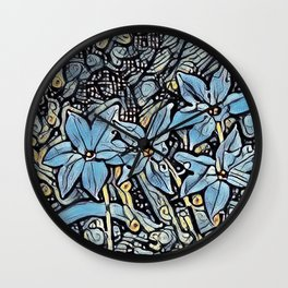 Clover Wall Clock
