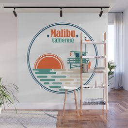 Malibu, California Wall Mural
