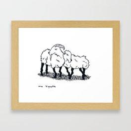 Ma Biquette Framed Art Print