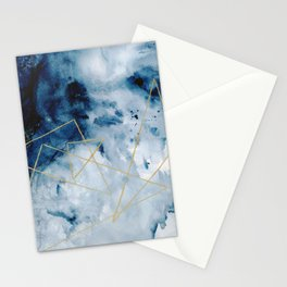 Geometry Number One Stationery Cards