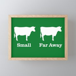 Small & Far Away - Father Ted Framed Mini Art Print
