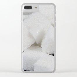 lump sugar Clear iPhone Case