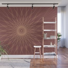 The Mandala Hypnotic Effect Wall Mural