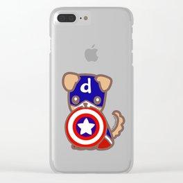 Captain Dodger & Shield Clear iPhone Case