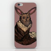 eevee iPhone & iPod Skins featuring Eevee by Papa-Paparazzi