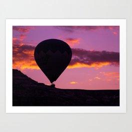 Cappadocia Balloon Art Print