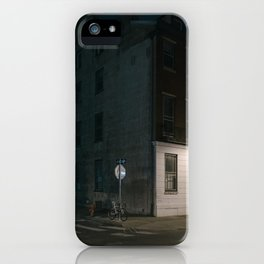 Philadelphia neighborhood street corner iPhone Case