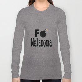 F Bomb Melanoma Long Sleeve T-shirt
