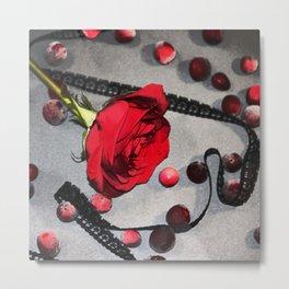 Petal Berries (Darker) Metal Print