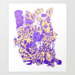 Springtrap (Colored version) Art Print