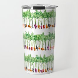 Funky Vegetables Travel Mug