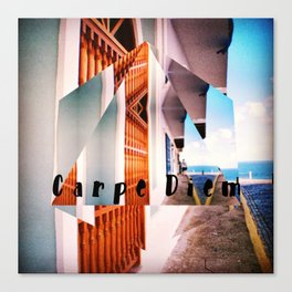 Carpe Diem in Puerto Rico Canvas Print