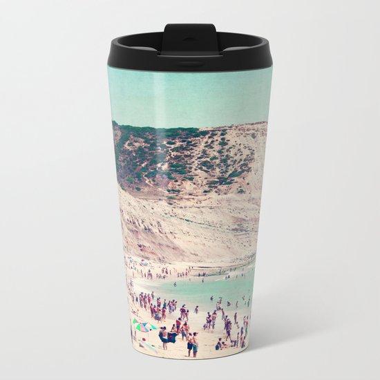 beach love V Metal Travel Mug