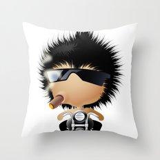 Mr. Zhong Throw Pillow