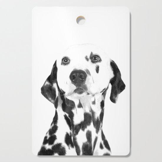 Black and White Dalmatian by alemi