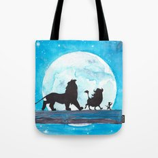 The Lion King Stencil Tote Bag