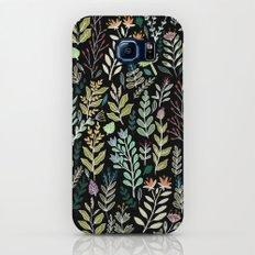 Dark Botanic Slim Case Galaxy S7