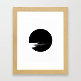 moon1 Framed Art Print